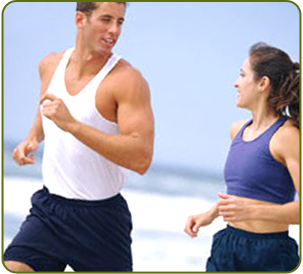Couple Jogging, Healthy Lifestyle